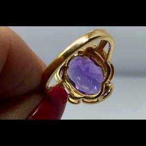 Jewelry - 14k Oval Amethyst Gemstone